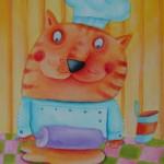La torta salata  alle verdure di gatto Gennarino