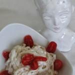 Pici con ricotta e pomodorini cikito
